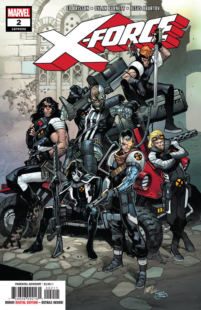 Image: X-Force #2 - Marvel Comics
