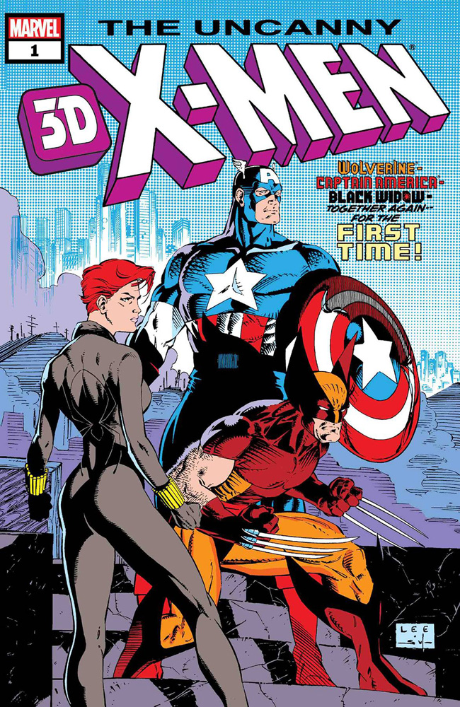 Uncanny X-Men 3D #1 (#268)