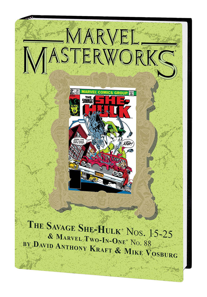 Image: Marvel Masterworks Vol. 274: The Savage She-Hulk Nos. 15-25, Marvel Two-in-One No. 88 HC  - Marvel Comics