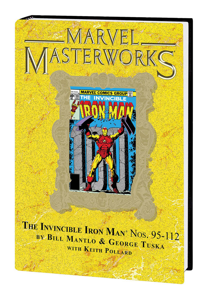 Image: Marvel Masterworks Vol. 275: The Invincible Iron Man Nos. 95-112 HC  - Marvel Comics