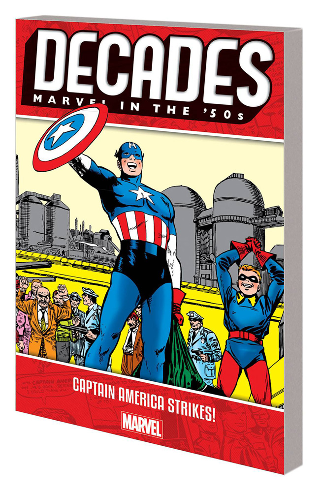 Decades: Marvel in the '50s –Captain America Strikes!