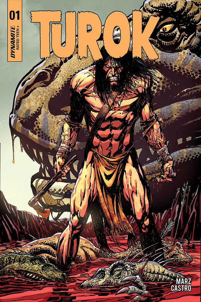 Turok #1 Bart Sears cover