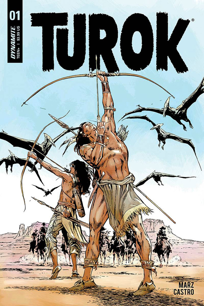 Turok #1 Butch Guice cover
