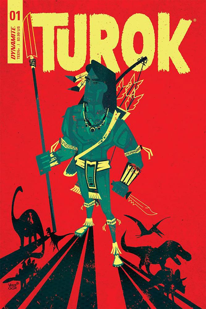 Turok #1 Jeffrey Veregge cover