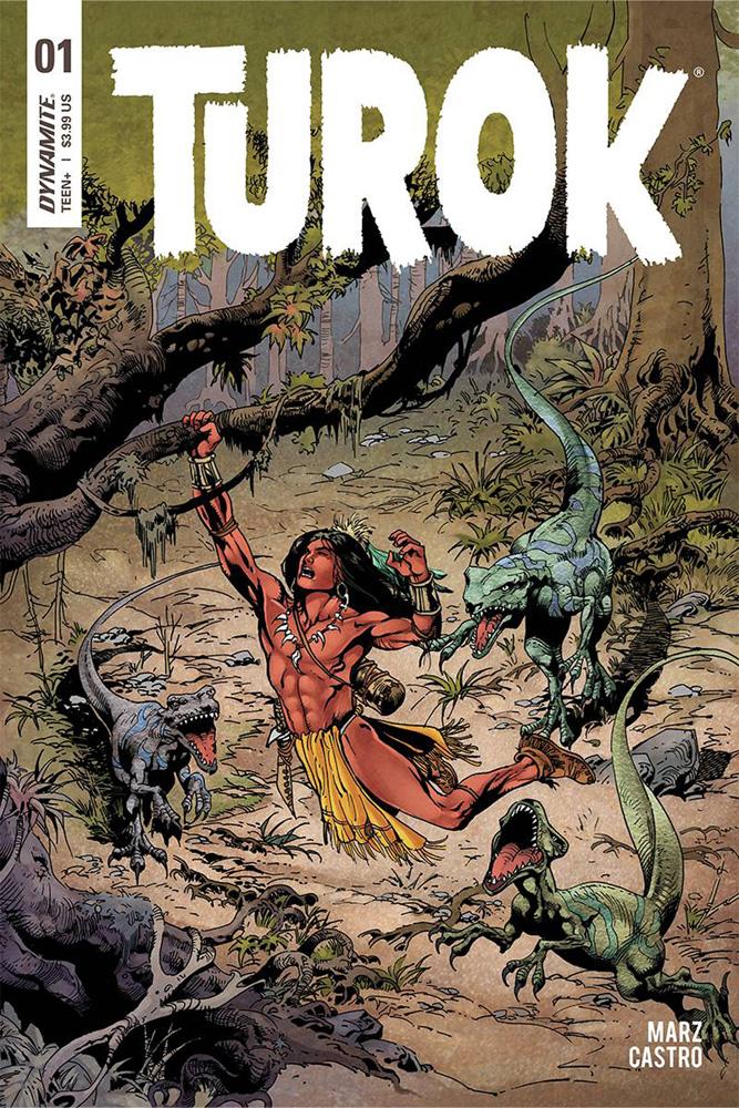 Turok #1 Roberto Castro cover
