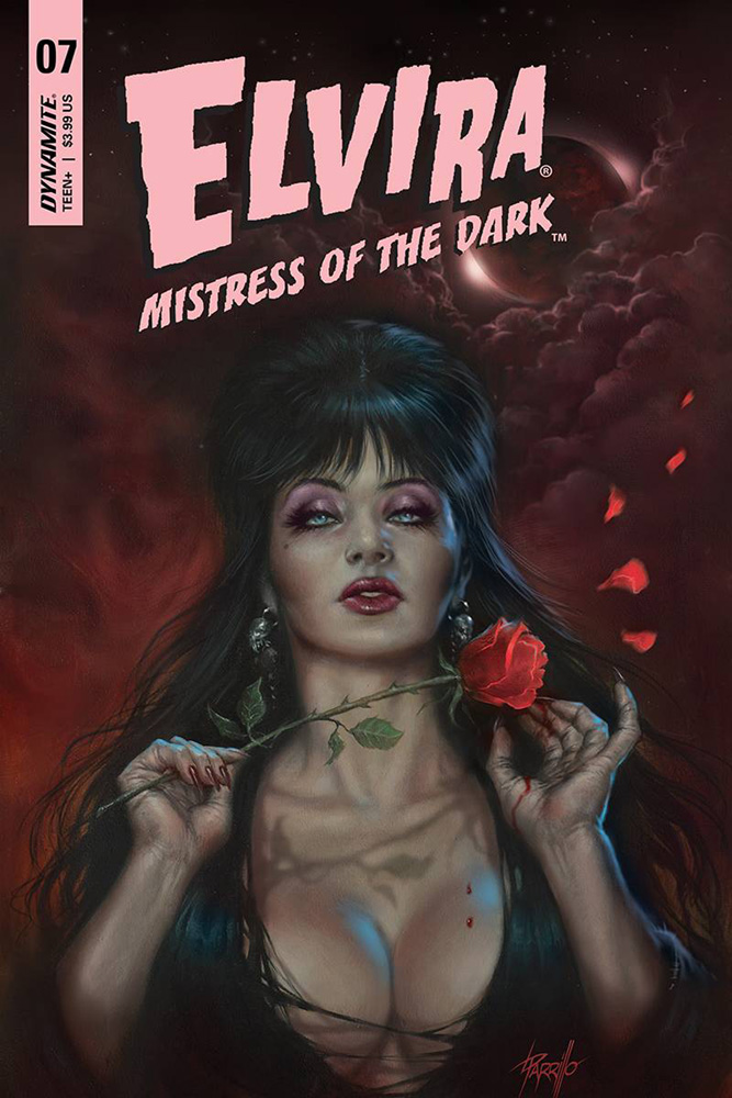 Image: Elvira: Mistress of the Dark #7 (cover A - Parrillo) - Dynamite
