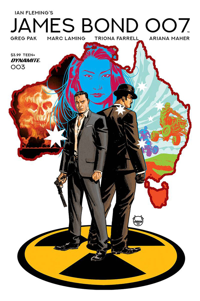 Image: James Bond 007 #3 (cover A - Johnson)  [2019] - Dynamite