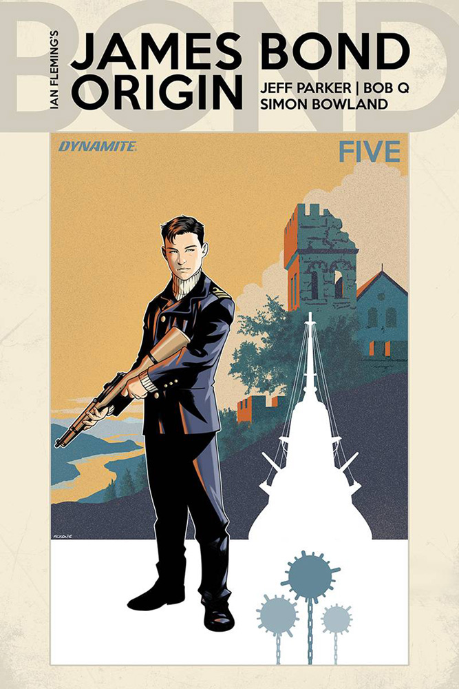 Image: James Bond: Origin #5 (cover B - McKone) - Dynamite