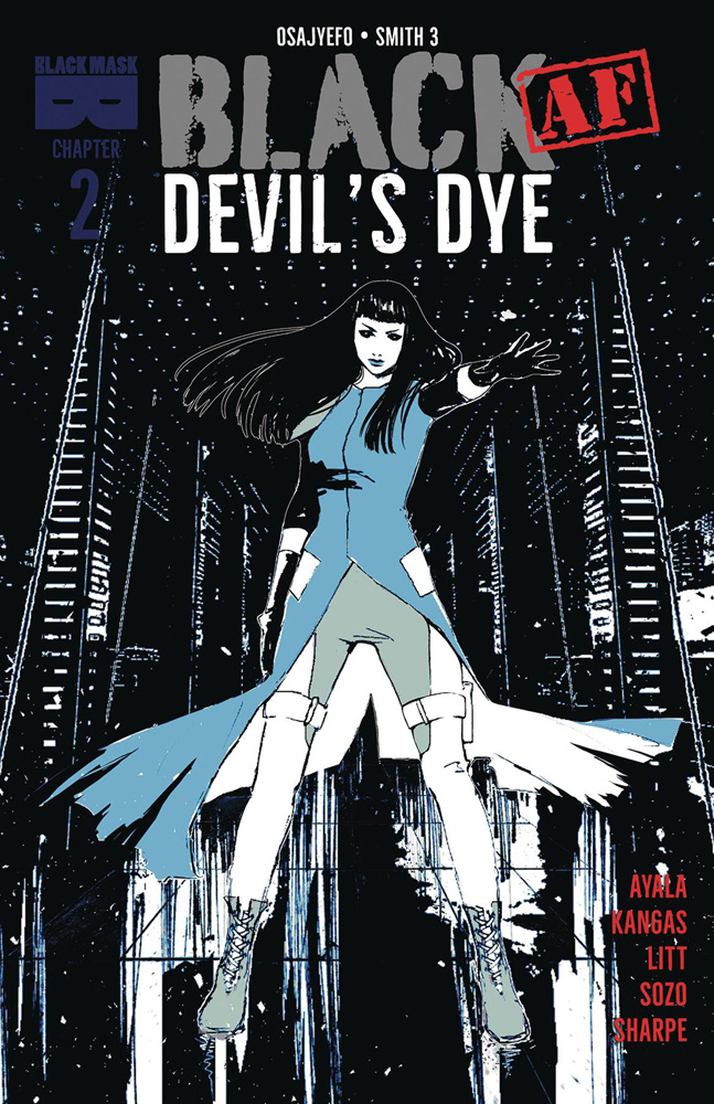 Image: Black #2 (AF): Devil's Dye - Black Mask Comics
