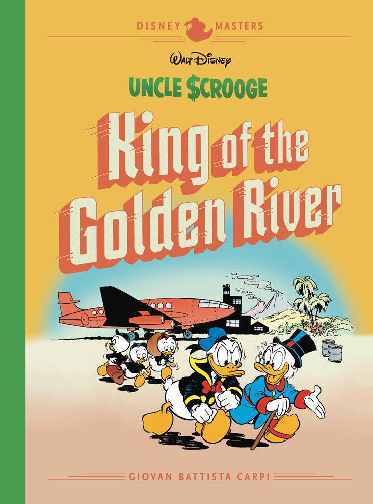 Image: Disney Masters: Uncle Scrooge: King of the Golden River HC  - Fantagraphics Books