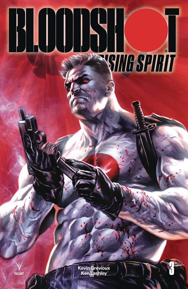 Image: Bloodshot: Rising Spirit #3 (cover A - Massafera) - Valiant Entertainment LLC