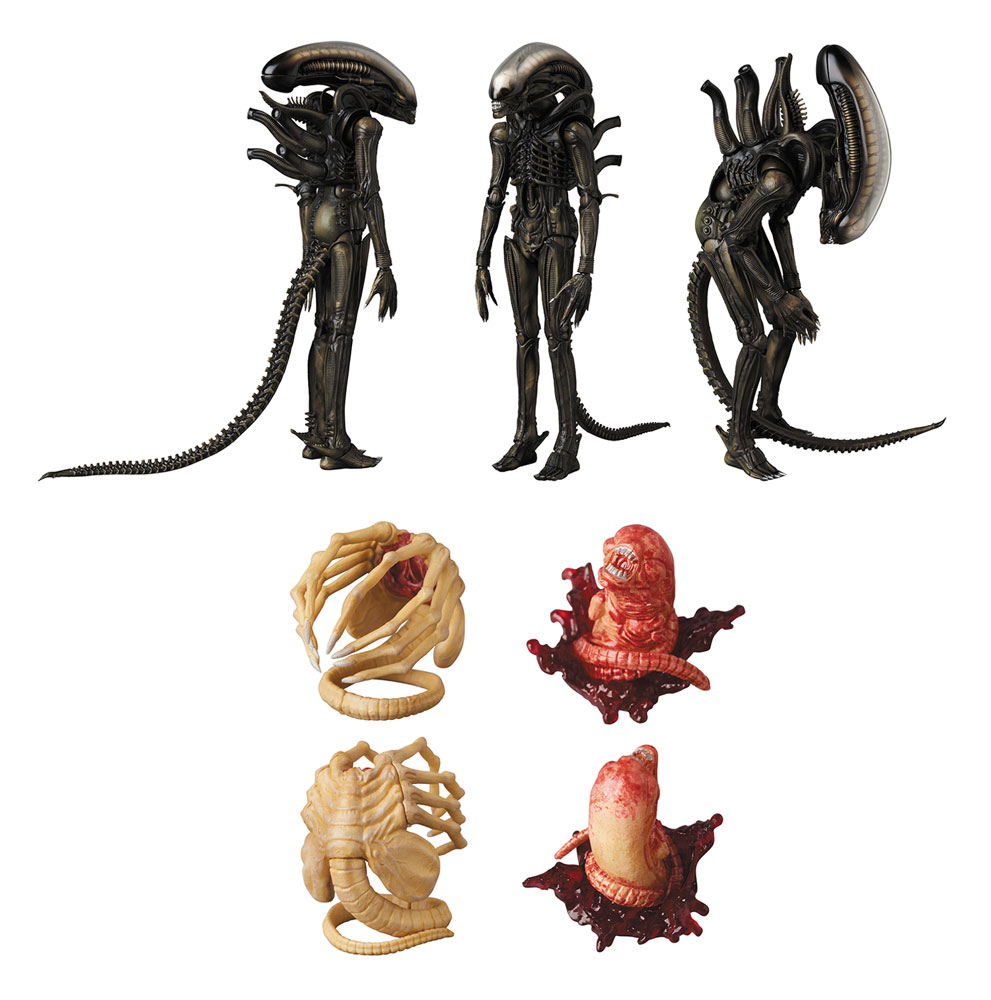 Alien Mafex Action Figure: Xenomorph  - Medicom Toy Corporation