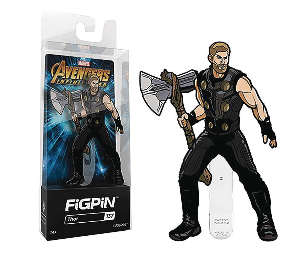 Image: Avengers Infinity War Figpin: Thor  - Cmd Collectibles