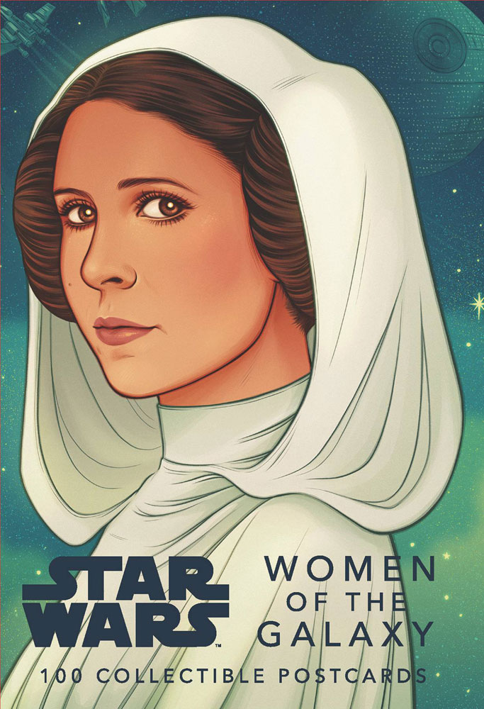 Image: Star Wars: Women of the Galaxy Postcards  - Chronicle Books