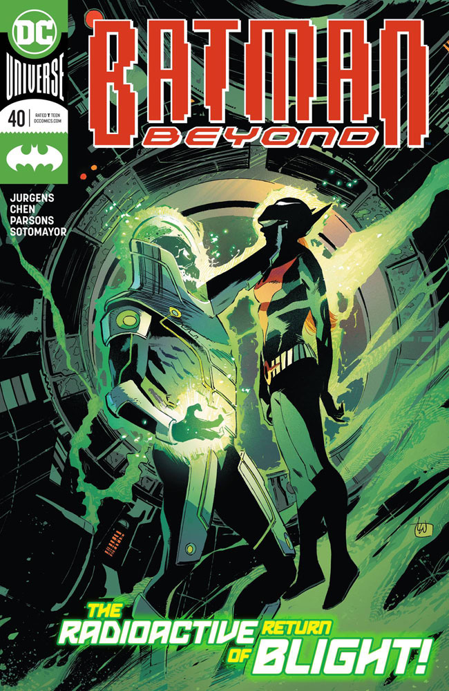 Image: Batman Beyond #40 - DC Comics
