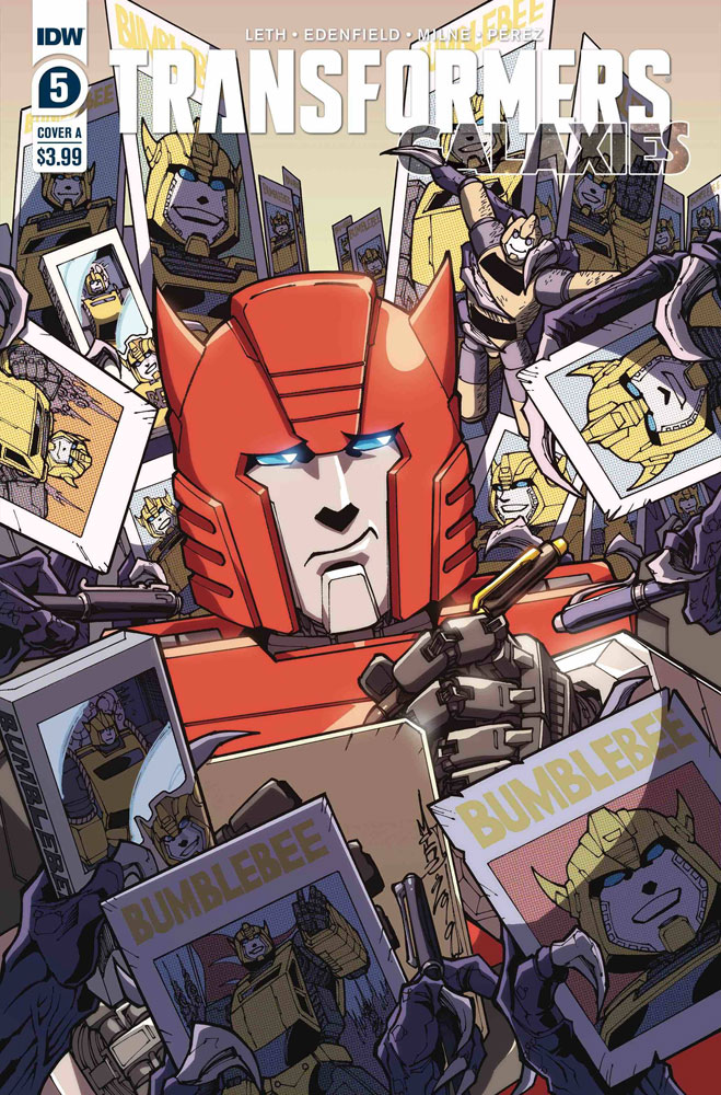 Image: Transformers: Galaxies #5 (cover A - Milne) - IDW Publishing