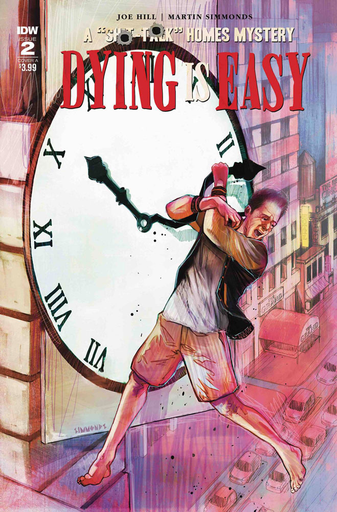Image: Dying Is Easy #2 (cover A - Simmonds)  [2020] - IDW Publishing