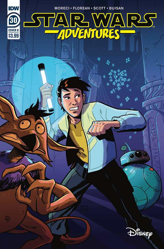 Image: Star Wars Adventures #30 (cover B - Buisan) - IDW Publishing