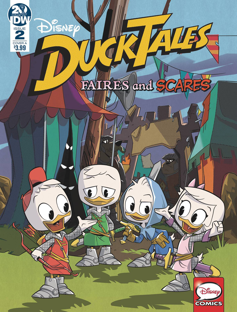 Image: Ducktales: Faires and Scares #2 (cover A) - IDW Publishing