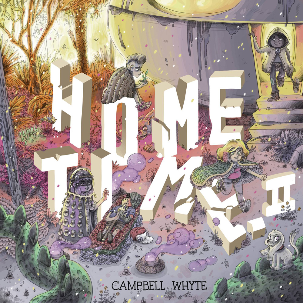 Image: Home Time Vol. 02: Beyond the Weaving HC  - IDW - Top Shelf