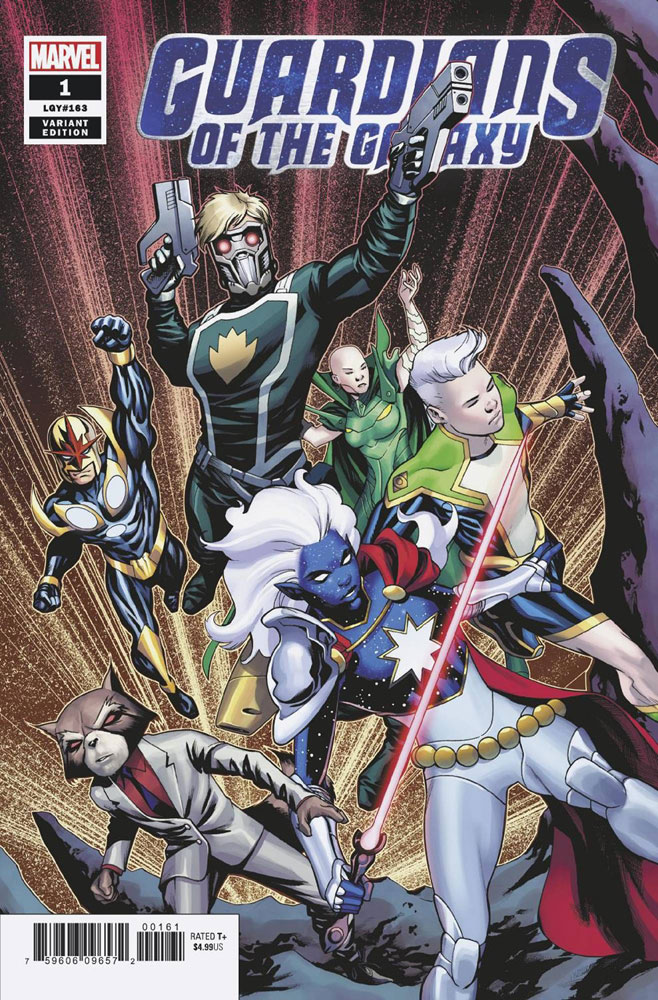 Image: Guardians of the Galaxy #1 (incentive 1:50 cover - McKone) - Marvel Comics