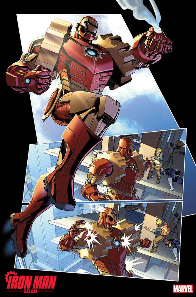 Iron Man 2020 #1 - Marvel Comics
