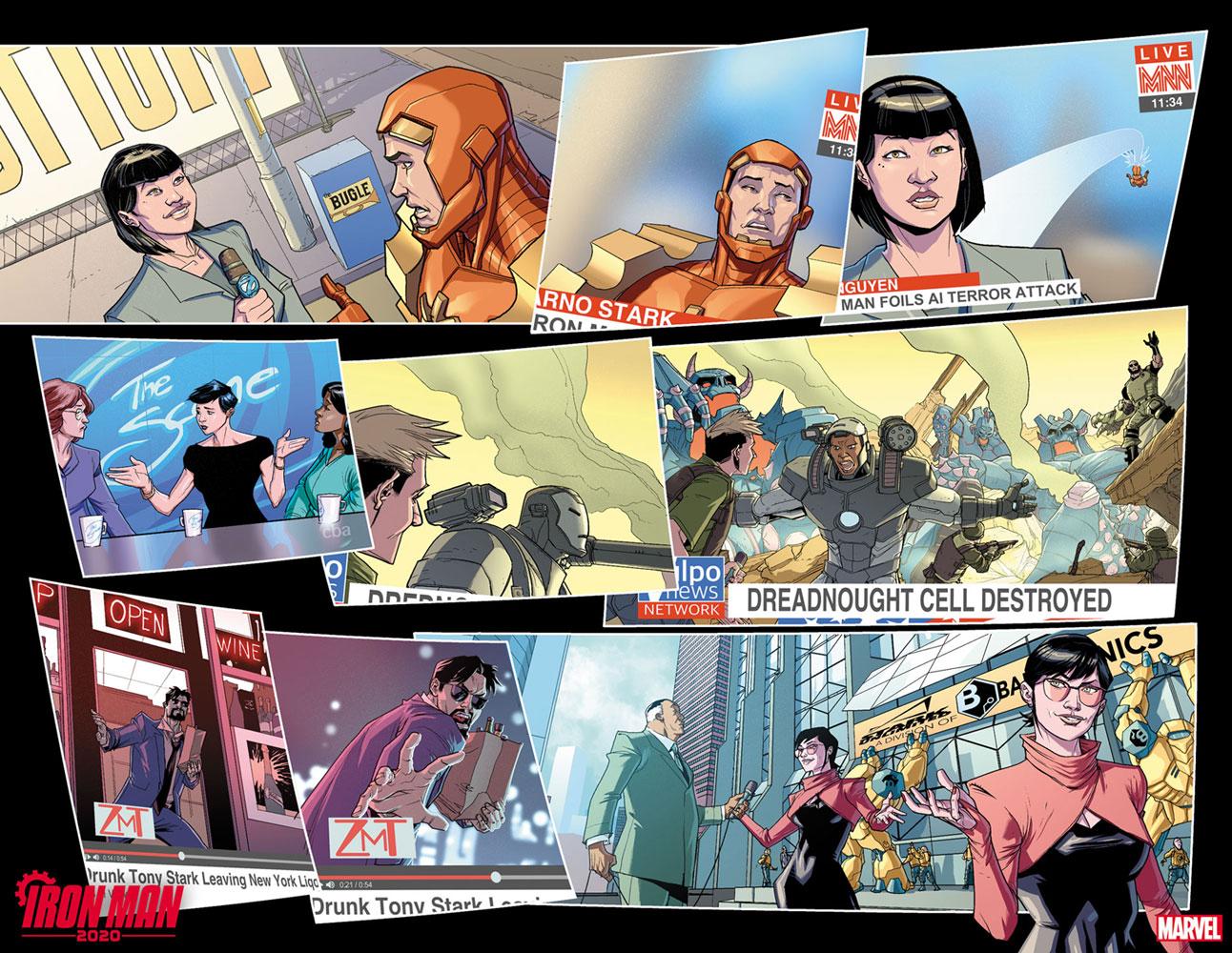 Iron Man 2020 #1 (incentive 1:25 cover - Khoi Pham)  [2020] - Marvel Comics