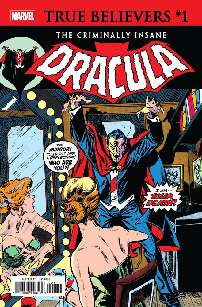 Image: True Believers: The Criminally Insane - Dracula #1 - Marvel Comics