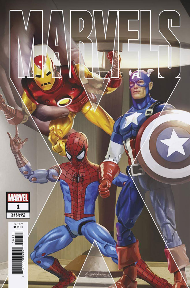 Image: Marvels X #1 (incentive 1:50 cover) - Marvel Comics