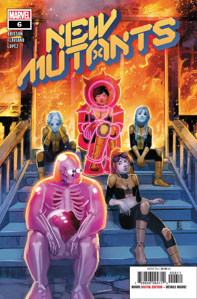 Image: New Mutants #6 (DX) - Marvel Comics