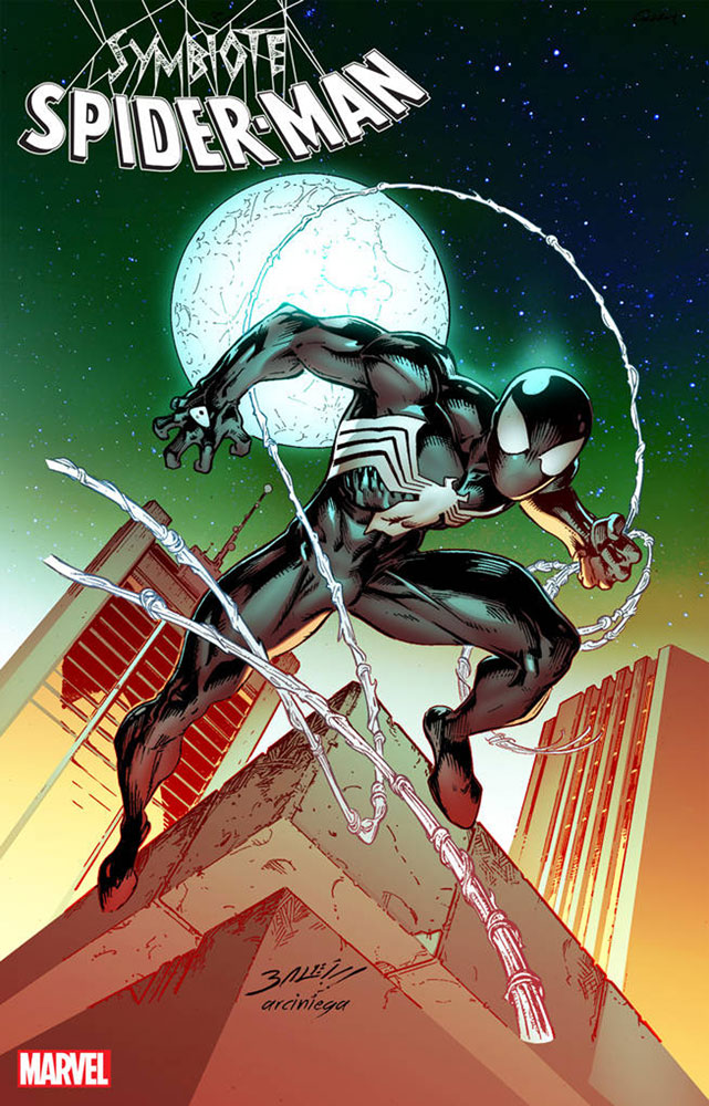 Image: Symbiote Spider-Man: Alien Reality #2 (variant cover - Bagley) - Marvel Comics