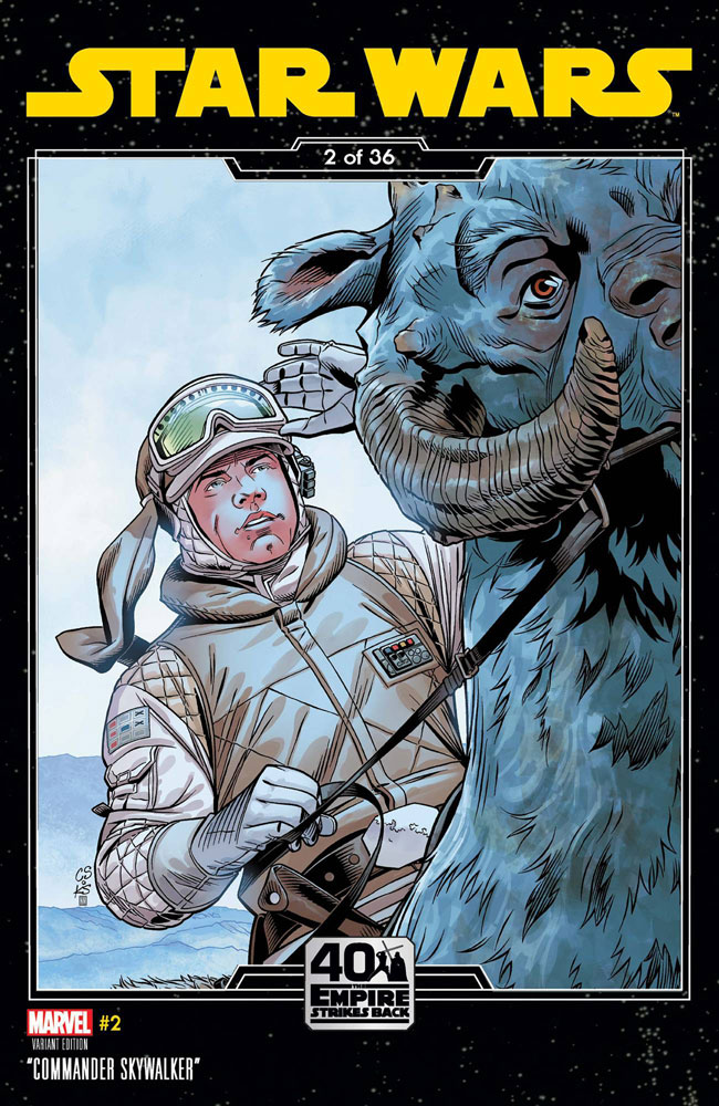 Image: Star Wars #2 (variant Empire Strikes Back cover - Sprouse) - Marvel Comics