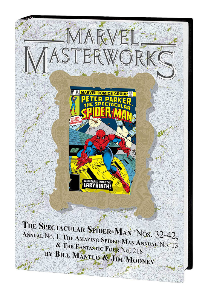 Image: Marvel Masterworks Vol. 290: The Spectacular Spider-Man Nos. 32-42, Annual No. 01, etc. HC  - Marvel Comics