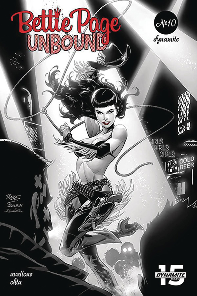 Image: Bettie Page: Unbound #10 (cover A - Royle) - Dynamite