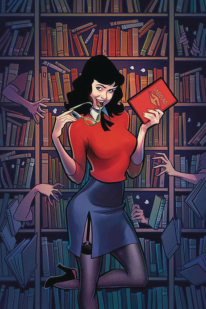 Image: Bettie Page: Unbound Vol. 03 #10 (incentive 1:20 cover - Shannon virgin)  [2020] - Dynamite