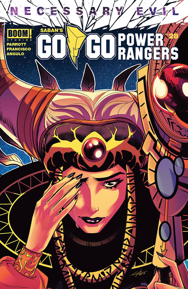 Image: Go Go Power Rangers #28 (cover A - Carlini) - Boom! Studios