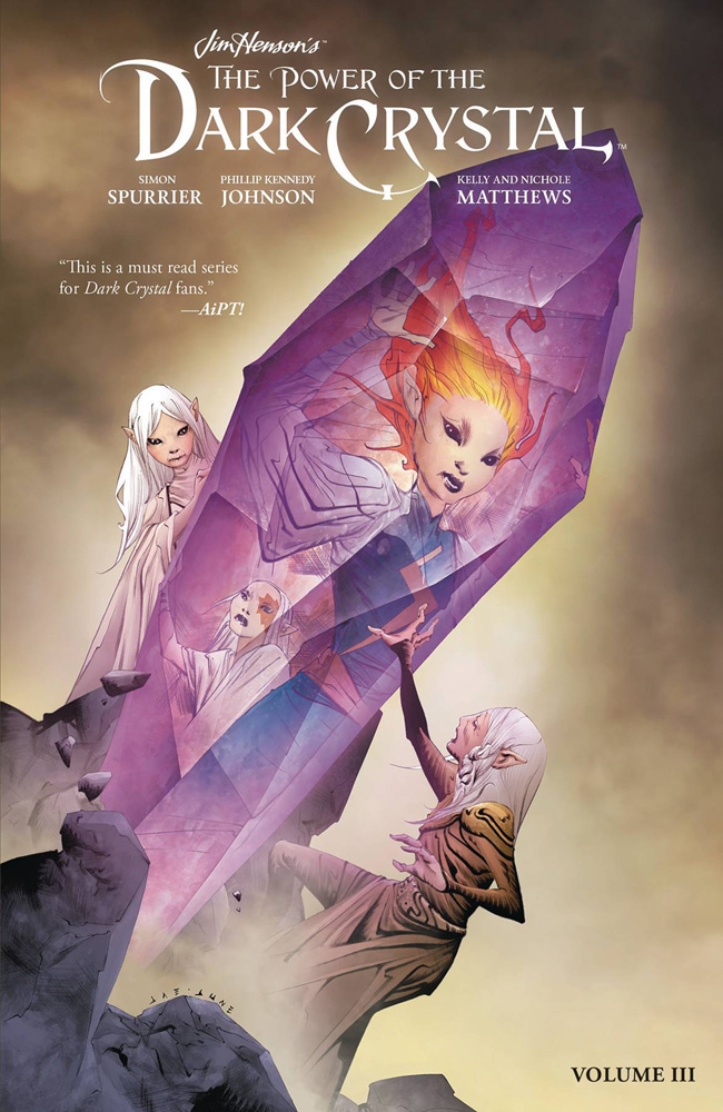 Image: Jim Henson: Power of Dark Crystal Vol. 03 SC  - Boom! Studios
