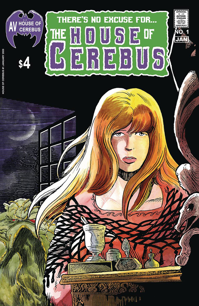 Image: House of Cerebus #1  [2020] - Aardvark Vanaheim