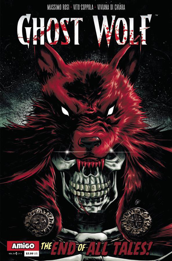 Image: Ghost Wolf Vol. 3: End of All Tales #1 - Amigo Comics