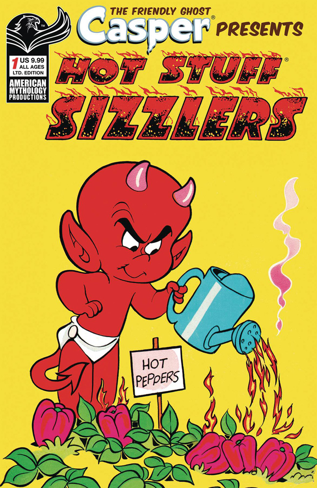 Image: Casper the Friendly Ghost Presents Hot Stuff Sizzlers #1 (Limited Edition cover) - American Mythology Productions