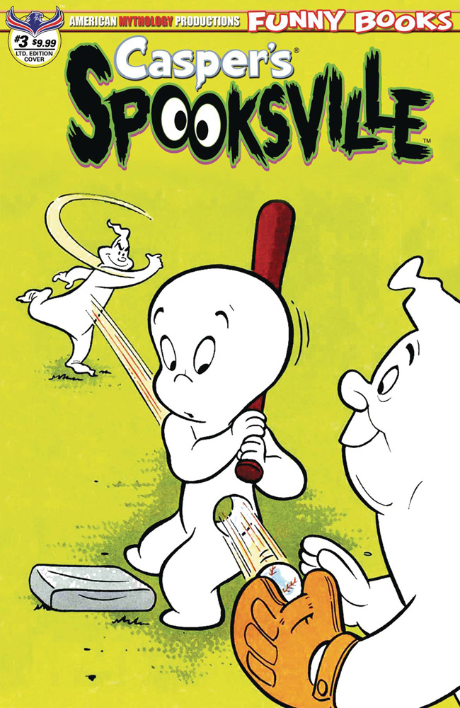 Image: Casper's Spooksville #3 (variant cover - Retro Animation) - American Mythology Productions