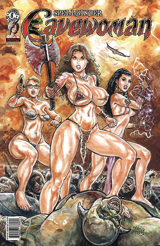 Image: Cavewoman: Spellbinder  (cover A - Massey) - Amryl Entertainment