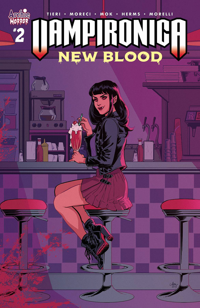 Image: Vampironica: New Blood #2 (cover A - Mok) - Archie Comic Publications