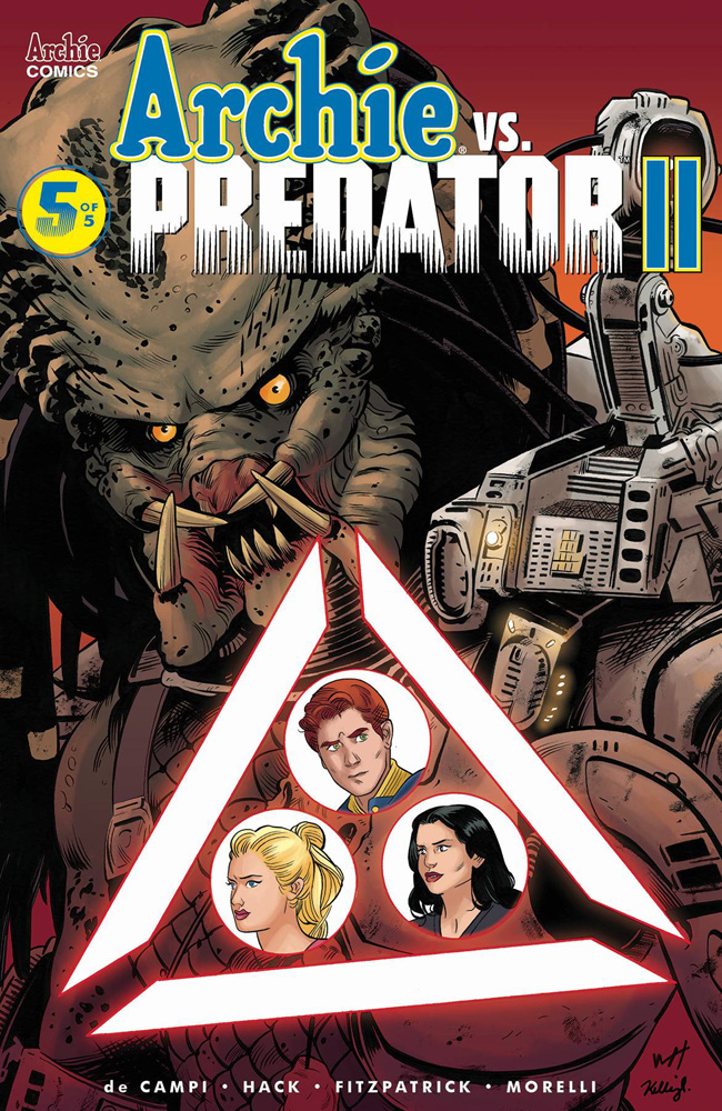 Image: Archie vs. Predator II #5 (cover F - Torres) - Archie Comic Publications