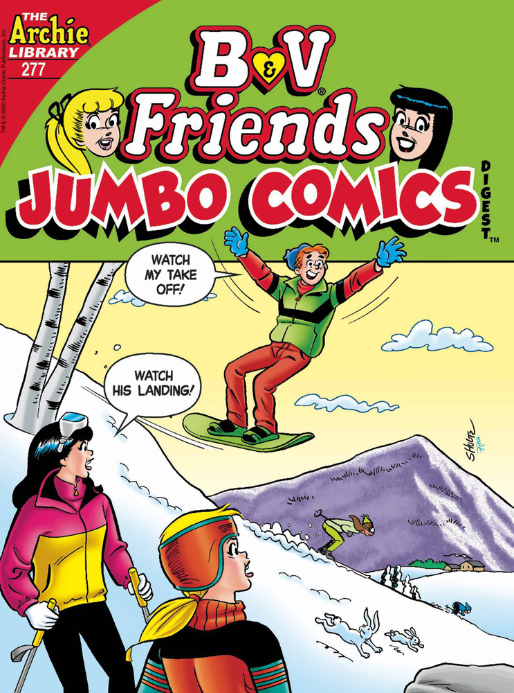 Image: B & V Friends #277 (Jumbo Comics) Double Digest  [2020] - Archie Comic Publications