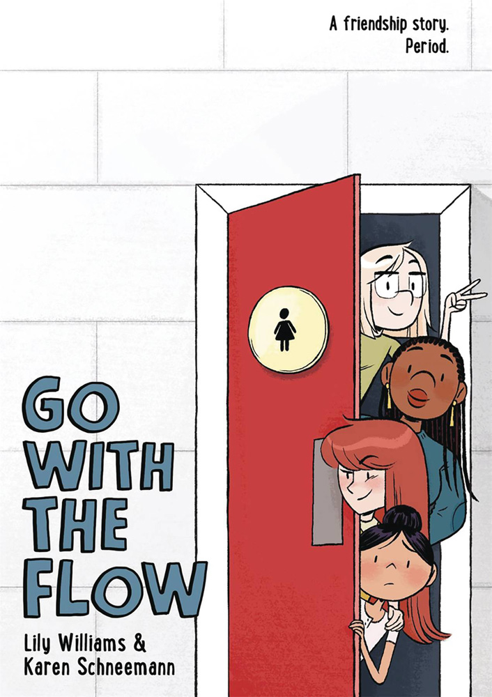 Image: Go with the Flow GN HC  - First Second (:01)