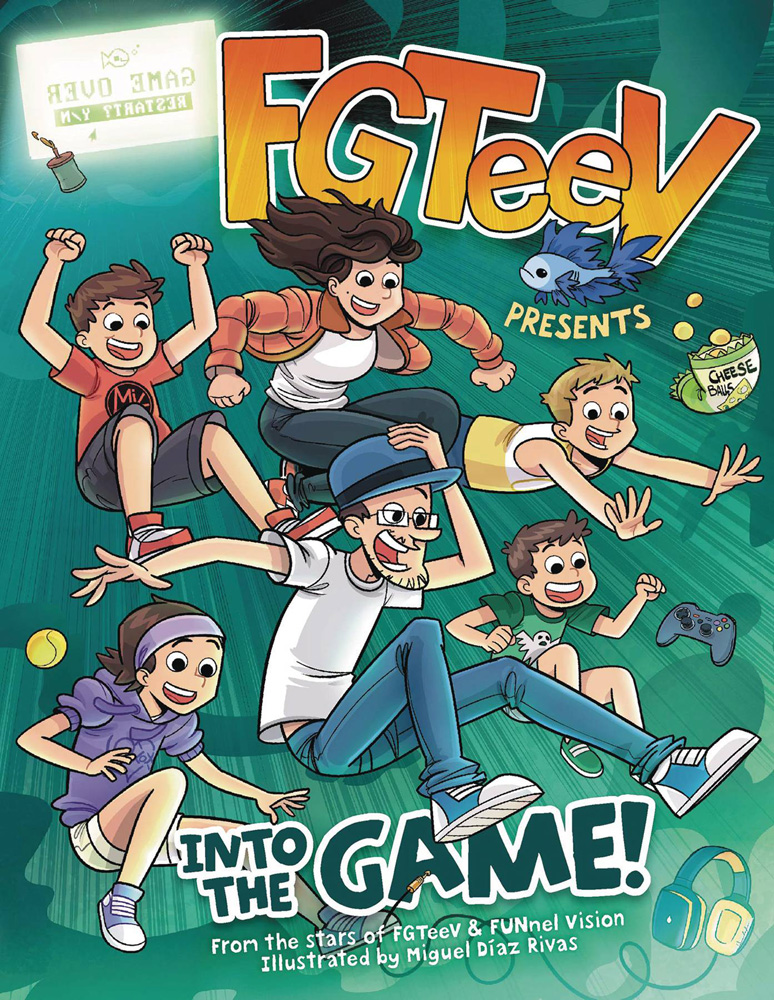 Image: FGTeeV Presents: Into the Game GN  - Harper Collins Publishers