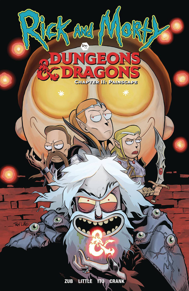 Image: Rick and Morty vs. Dungeons & Dragons II: Painscape SC  - Oni Press Inc.
