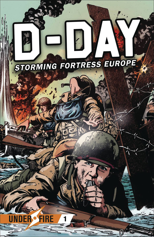 Image: D-Day: Storming Fortress Europe GN  - Osprey Publishing