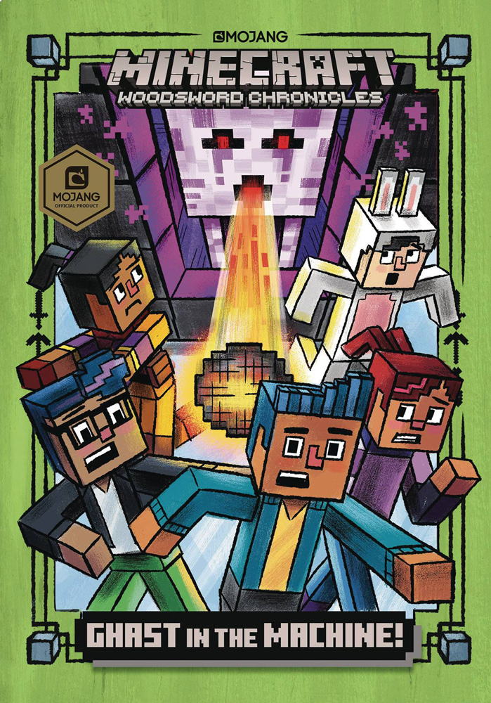 Image: Minecraft Woodsword Chronicles Chapterbook Ghast in Machine  - Random House Books Young Reade